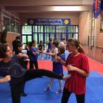 Kick boxing e autodifesa Under 16 - Palestra Kennedy Perugia