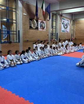 Allenamento di karate del 24 novembre 2018