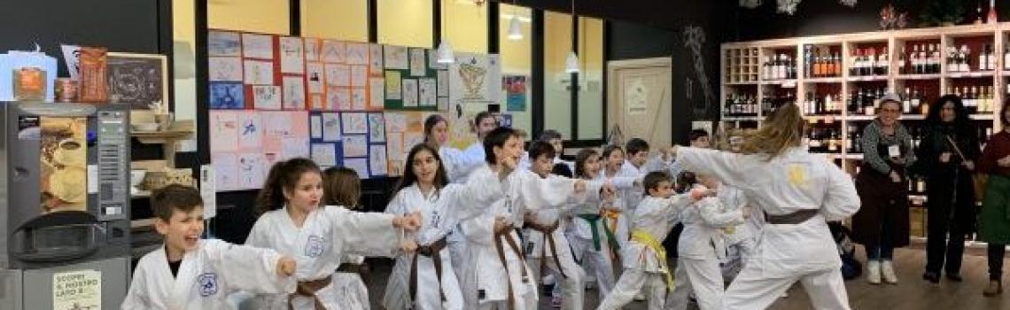 Orientiamoci…i bambini presentano il karate