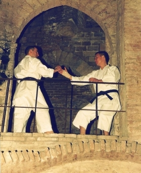 Takeji Ogawa e Alberto Catagna